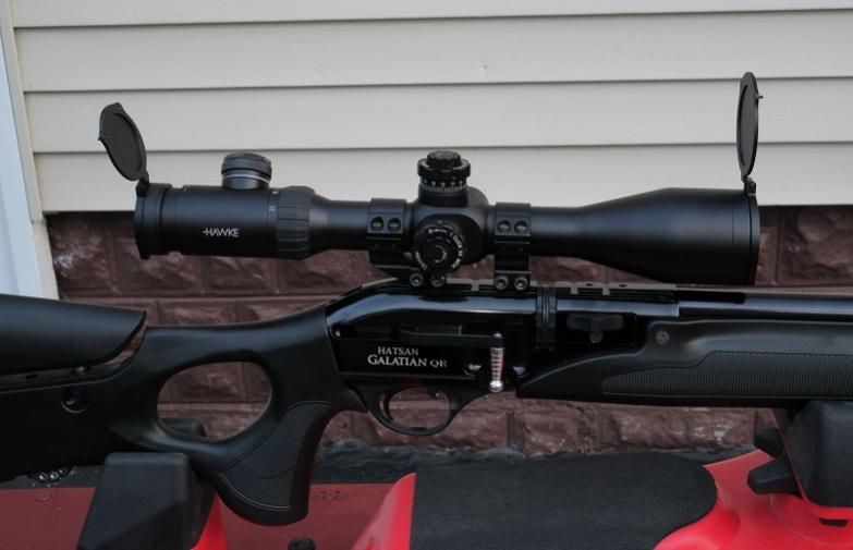 Hawke Airmax w/AMX Reticle Scopes - Air Gun Forums